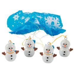 Snowman Paratrooper Toys
