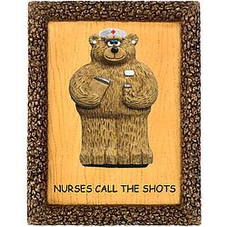 Personalized for Nurse Plaque