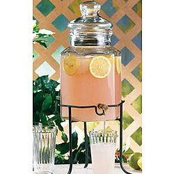 Del Sol Spigot Jar with Stand