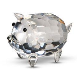 Crystal Pig Figurine