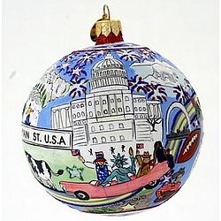 American Road Trip Ornament Findgift Com
