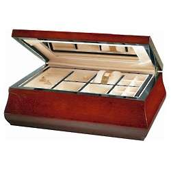 Traditional Teak Jewelry Box