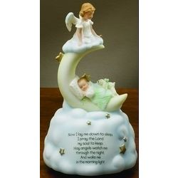 Musical Prayer Sweet Dreams Figurine