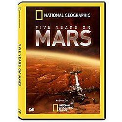 Five Years On Mars DVD