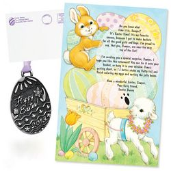 Letter and Gift from The Easter Bunny