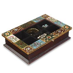 Socorro Patchwork Jewelry Box
