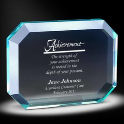 Service Gem Acrylic Award