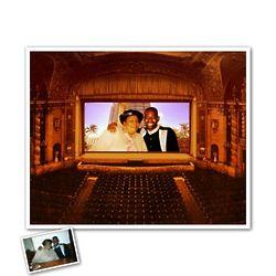 Movie Theatre Custom Photo Art Print