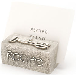 Good Cookin' Pewter Recipe Stand