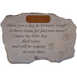 do you have a dog in heaven lord