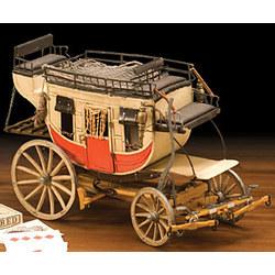 15 Inch Vintage Passenger Stagecoach