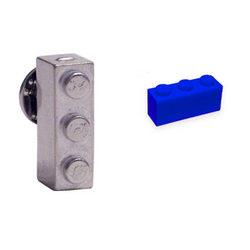Building Block Pin/Tie Tack