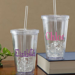 On The Go Personalized Acrylic Tumbler