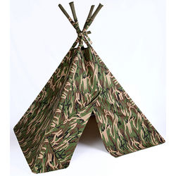 Old West Camo Play Teepee