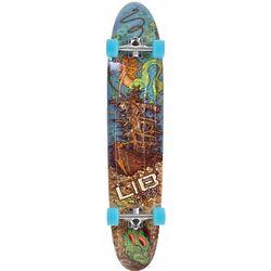Shipwreck and Mermaid Longboard Skateboard