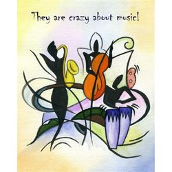 Personalized Music of the Heart II Print