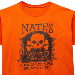 Personalized Haunted Tavern T-Shirt