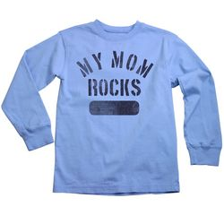 Toddler My Mom Rocks Long Sleeve T-Shirt