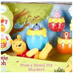 Winnie the Pooh's Honey Pot Stackers