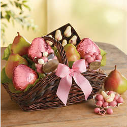 Pink Pear Breast Cancer Awareness Gift Basket