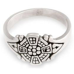 Batavia Whisper Sterling Silver Signet Ring