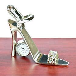 Personalized Stiletto Heel Clock