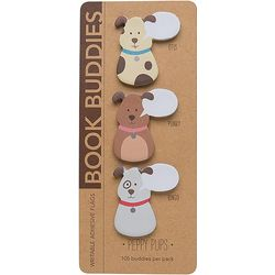 Peppy Pups Book Buddies Sticky Notes