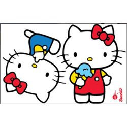 Hello Kitty Super Cute Wall Decals