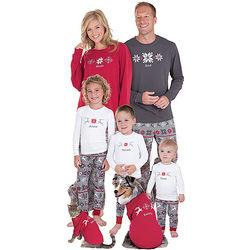 Classic Nordic Matching Family Christmas Pajamas