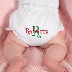 Fancy Pants Personalized Baby Diaper Cover