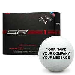 Callaway Golf Speed Regime 1 Personalized Golf Balls