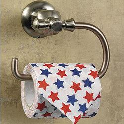 Patriotic Print Toilet Paper