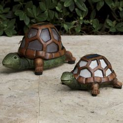 Solar Color Changing Turtle Lights