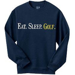Personalized Eat Sleep Long Sleeve T-Shirt