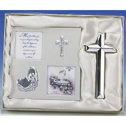 Baptism Photo Album and Cross Set