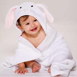 Bunny Baby Bath Wrap
