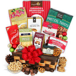 Corporate Christmas Snacks Gift Basket