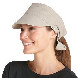 Women's Tie Back UPF Sun Cap