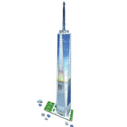 3D Freedom Tower Puzzle