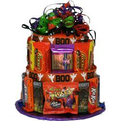 Boo Candy Bar Cake