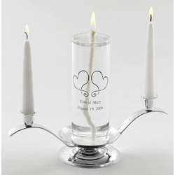 Personalized Premier Eternity Unity Candle Set