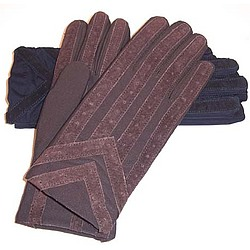 Men's Knit Lined Spandex Driving Glove