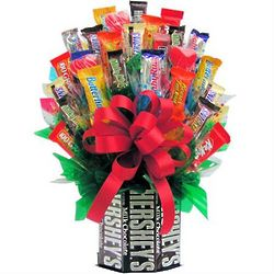 For The Love of Chocolate Candy Bouquet