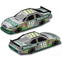 Kyle Busch #18 NASCAR Doublemint Die-Cast Car