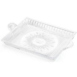 Engraved Lismore Diamond Serving Tray