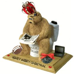 Personalized #1 Daddy-on-Throne Figurine