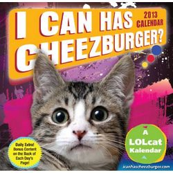 I Can Has Cheezburger? 2013 Desk Calendar