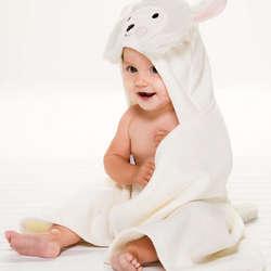 Lambie Baby Bath Wrap