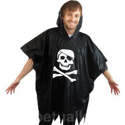 Disposable Pirate Poncho