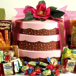 You Take the Cake Gourmet Gift Tower